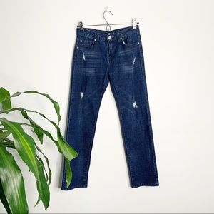 7 For All Mankind┃Boy's Slimmy Slim Fit Blue Jeans